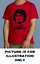 NESSA GAVIN AND STACEY MEN RED T SHIRT