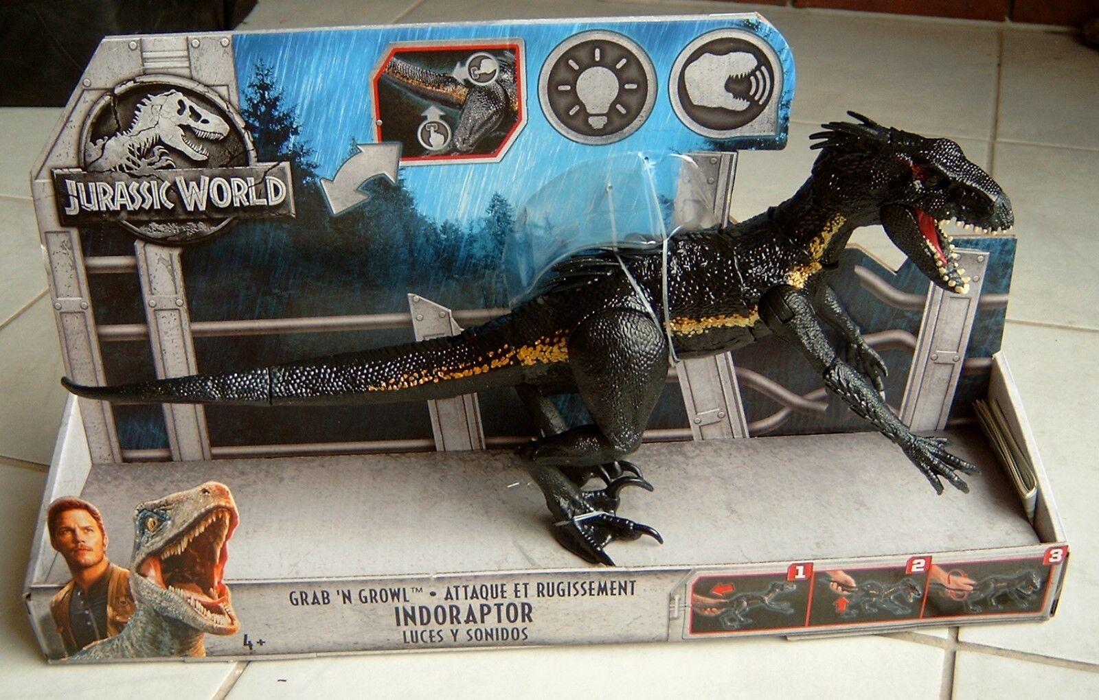 Jurassic World Fallen Kingdom Indoraptor Licht+Sound 44 cm Mattel FLY53 NEU OVP