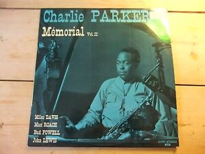 CHARLIE-PARKER-Memorial-Vol-II-1966-French-IMPORT-LP-Savoy-SA6008-Miles-Davis