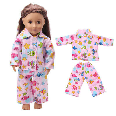 18 inch American Doll Baby Dolls Outfits Bears Clothes Dress Accessories My Life
