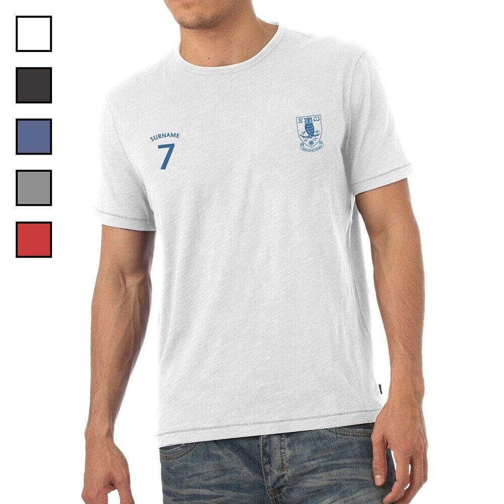 Sheffield Wednesday F.C - Personalised Mens T-Shirt (SPORTS)