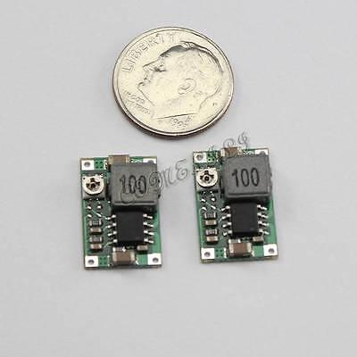 2pcs Super Mini DC-DC Converter Step Down Module Adjustable 1V 5V 12V 16V for RC