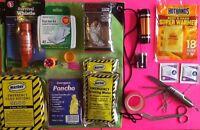 Emergency Survival Kit Hurricane Disaster Survival Earthquake Car Safety Kit Emp
