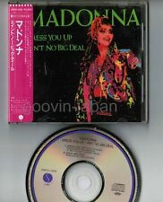 "MADONNA Dress You Up~Ain't No Big JAPAN 5"" MAXI CD 28XD-456 w/STICKER-OBI+P/S"