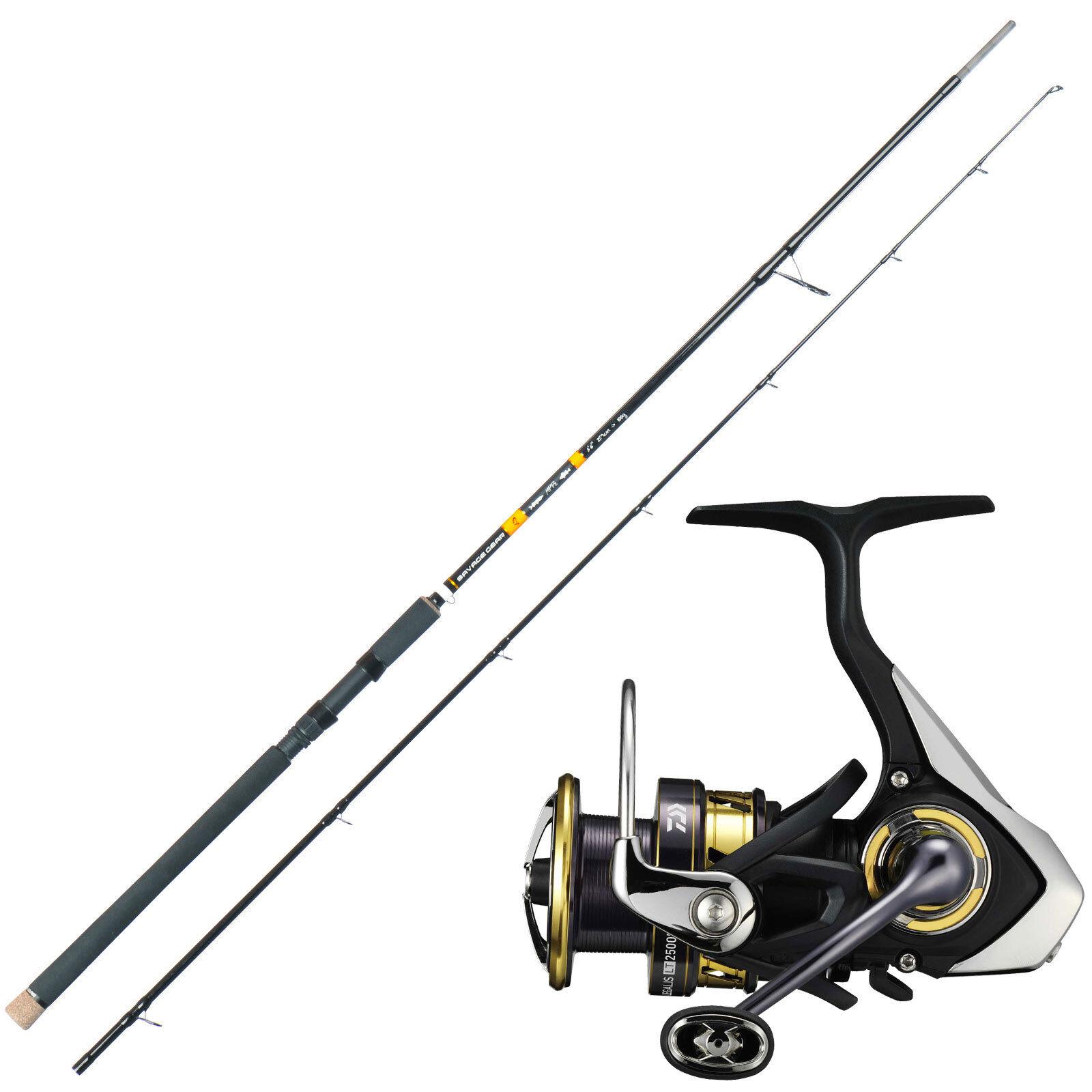 Pescare luccio pesca Savage Gear canna da pesca con DAIWA Angel Ruolo Profi Combo