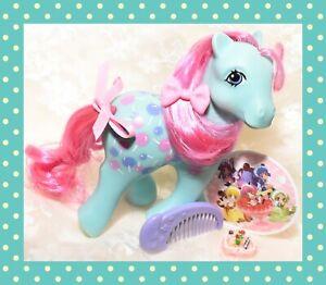 ❤️My Little Pony MLP G1 Vtg TAF Twice as Fancy Sweet Tooth Lollipop & Comb❤️