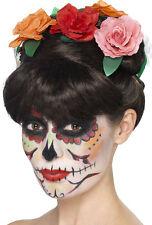 Dia de los Muertos Beauty Perücke NEU - Karneval Fasching Perücke Haare