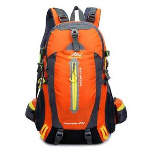 7b94e10423 Image is loading 40L-Mountaintop-Water-resistant-Hiking-Daypack-Camping- Backpack-