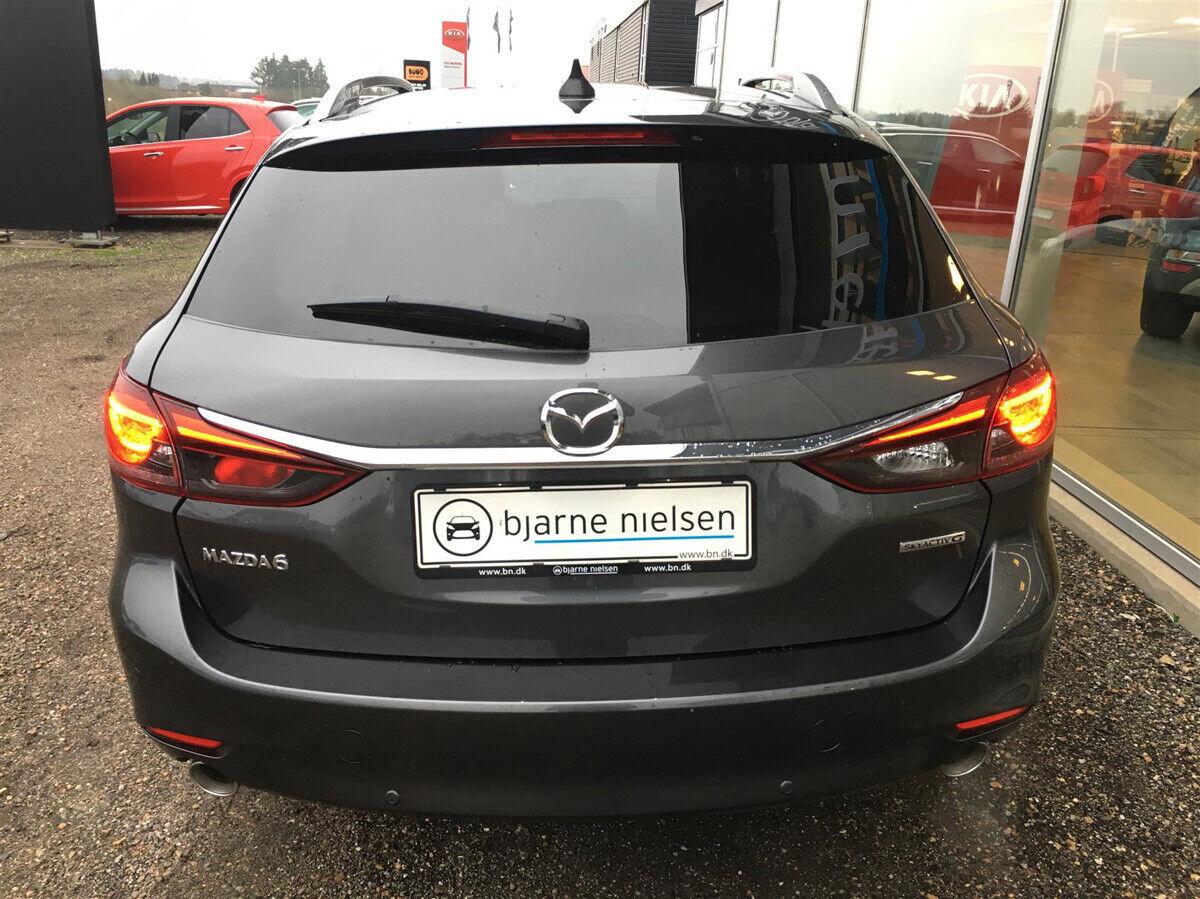 Mazda 6 2,5 Sky-G 194 Premium stc. aut. - billede 6