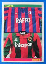 FIGURINA/CARD-SCORE '93 - n. 446 - LE MAGLIE - TARANTO/TERNANA - NEW