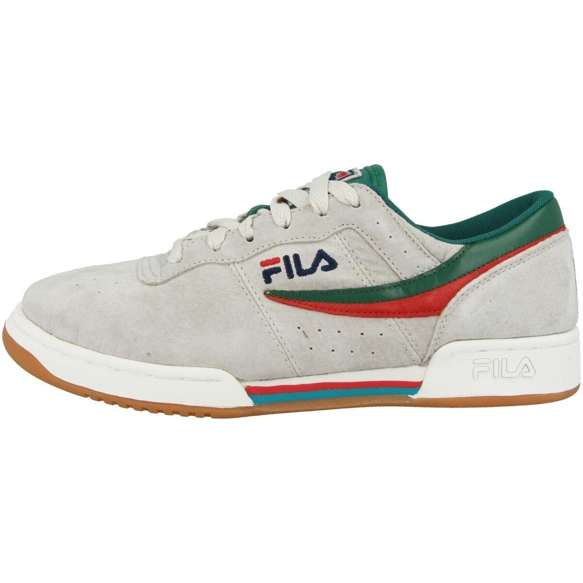 Fila Original Fitness S Chaussures Messieurs Low Cut Basket Turtledove 1010259.00r