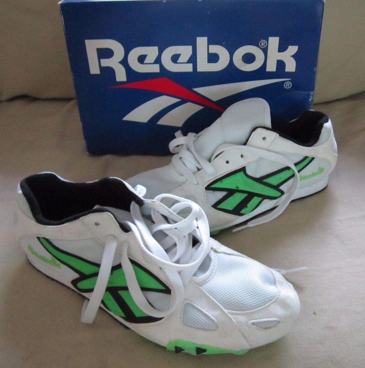 Floración de claridad  Vintage Reebok Running Track & Field Athletics Distance Spikes Shoes M 8 W  10 for sale online