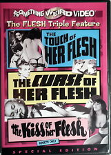 THE FLESH TRIPLE FEATURE the touch the curse the kiss of her flesh - Findlay DVD