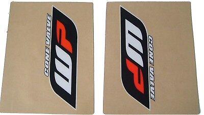 FLU DESIGNS NEW STYLE WP UPPER FORK STICKERS DECALS KTM SXF250 SXF350 SXF450