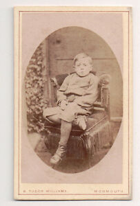 Vintage-CDV-leonard-ch-of-Marcia-Gabb-amp-Charles-P-Lewis-Williams-Photo-Monmouth