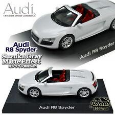 [KYOSHO 1/64] Audi R8 Spyder Suzuka Gray Matte Effect Online Limited