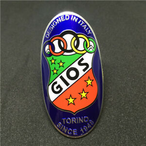 New GIOS 1948 38*58mm Headtube Badge 1x Frame Stickers Shipping