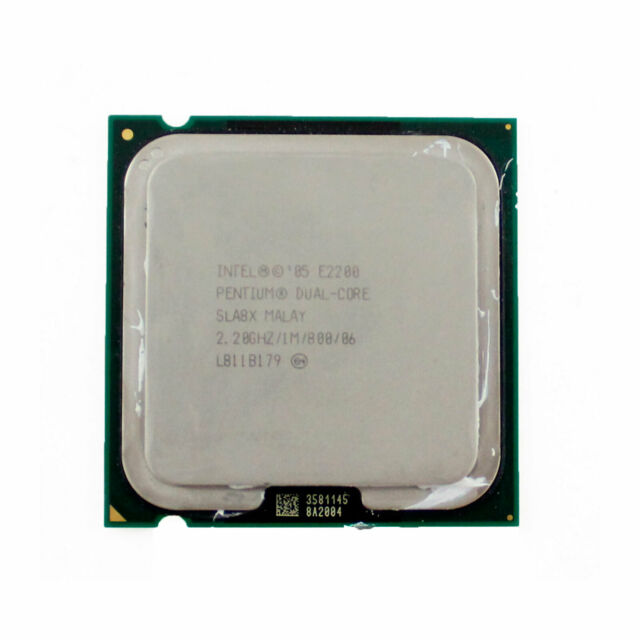 Procesador Intel Pentium Dual Core E2200 2.20GHz 1MB 800MHz LGA775 SLA8X Usado