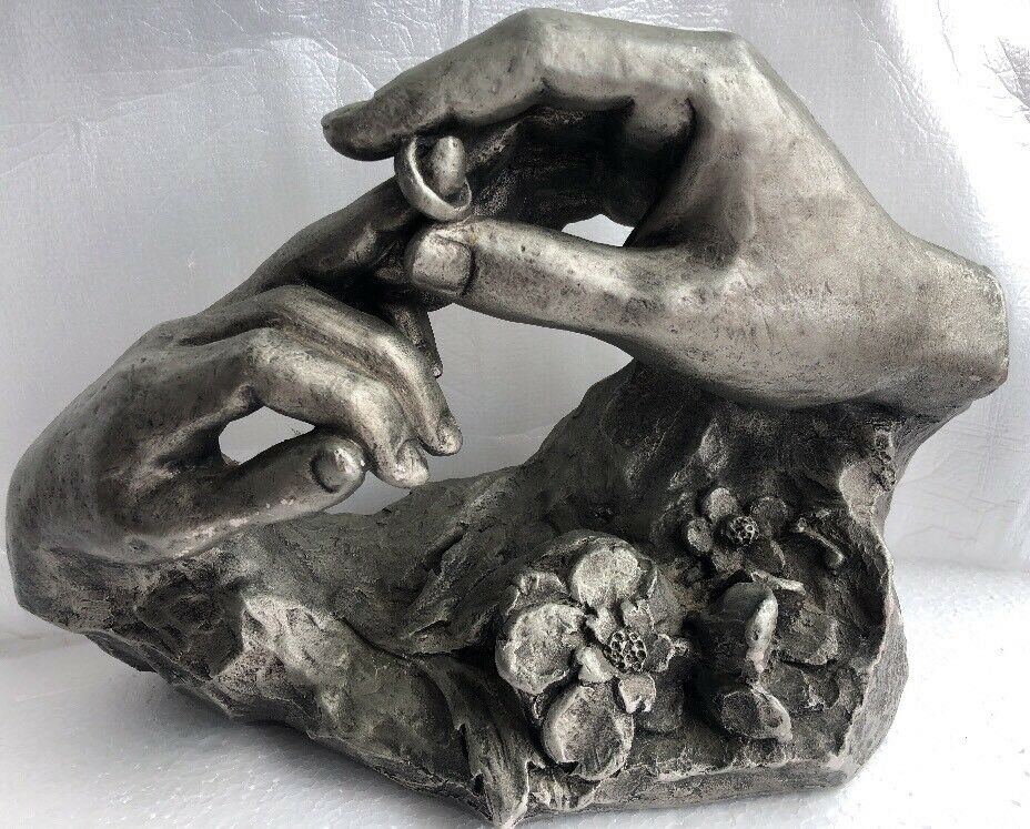 The Ring Fisher Wedding Gift XXL Sculpture Statue Austin Productions Chalk-ware