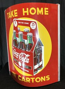 Coca-Cola-Six-Pack-Double-Sided-Sign