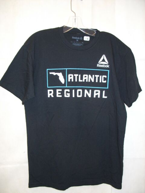 4898a6276f REEBOK - Mens Crossfit Atlantic Regionals 2018 Florida Activewear T-Shirt  *NEW*