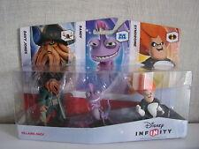 Disney Infinity - 3er Figurenset (Syndrome, Randy, Davy Jones) - NEU & OVP