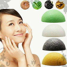 Konjac Sponge Exfoliating Beauty Sponges Natural Japanese Cleansing 4PACK