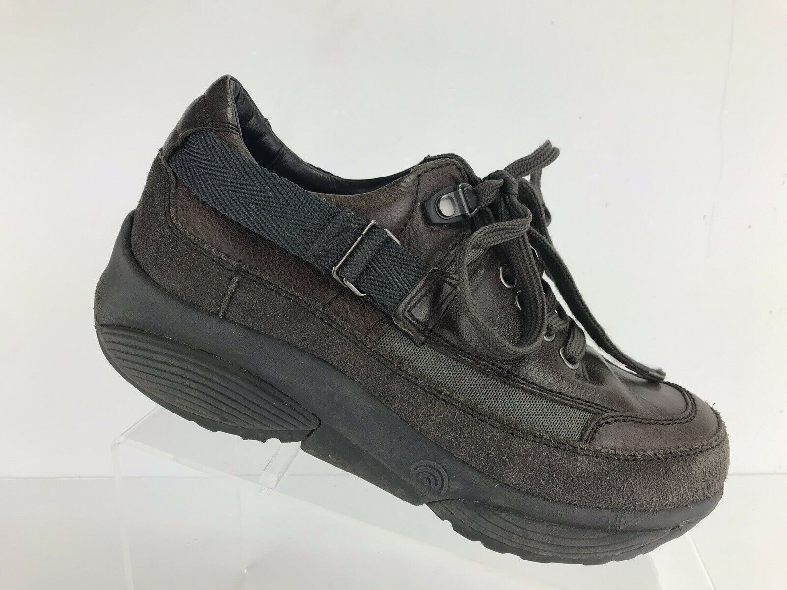 Xsensible Stretch Walker Black Comfort Diabetic Walking shoes Women's Sz 38 7.5