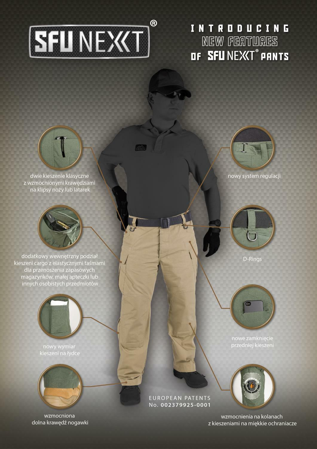 HELIKON TEX SFU NEXT Tactical Security Security Security Outdoor Hos pants schwarz MR Medium Regul c5c3f3