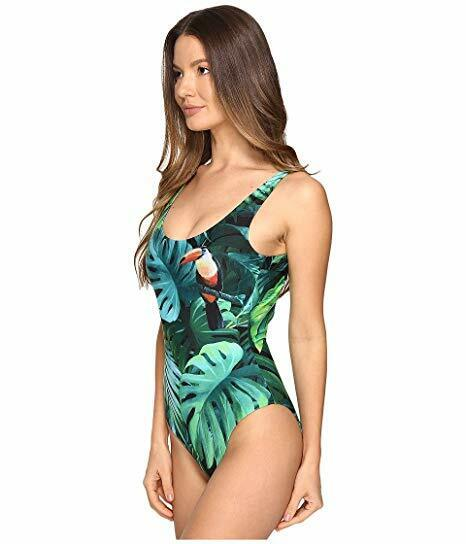 adefdcc4de2b0 Onia Kelly One-piece Bathing Suit Swimwear El Toucan Sz M Green Multi for  sale online | eBay
