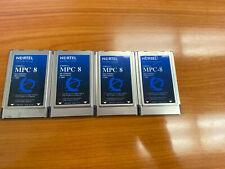 Lot Of 4 Nortel Ntrh01aa Mpc 8 Callpilot Multimedia Processing Card