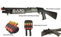 De Double Eagle M56 Shotgun Airsoft 4 Shell Magazine Holder Holster Shells Tubes