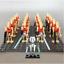 21-Pcs-Minifigures-Star-Wars-Battle-Droid-Gun-Clone-Bonus-Minikit-Lego-MOC miniature 14