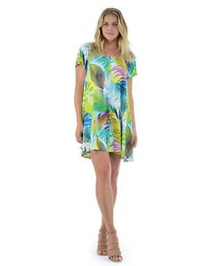 d2648a3d336bc NEW Jams World Doris Dress Al Fresco Hawaiian Sundress Large Made in ...