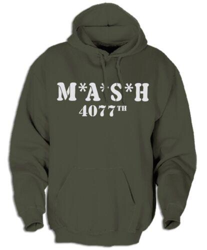 M.A.S.H 4077-Kapuzensweat Hawkeye Vietnam militaire US-ARMY SOLDATS série TV