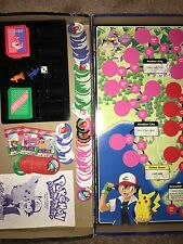 1999 Pokemon Master Trainer Game Replacement Chips Cards BY THE PIECE, Black Box