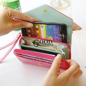 a3a98f3de101 Image is loading Fashion-Lady-Women-Clutch-Long-Purse-Leather-Wallet-