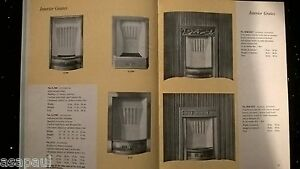 FIREPLACES-BY-HOOLE-BOOK-PAPERBACK-BOOKLET-PAMPHLET-CATALOGUE-ILLUSTRATED