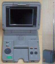 NEC PC ENGINE LT SYSTEM CONSOLE Giappone Laptop pi-tg9 * FUNZIONANTE + ottime condizioni