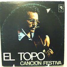 EL TOPO Cancion Festiva LP VG+++ vinyl on Guanin