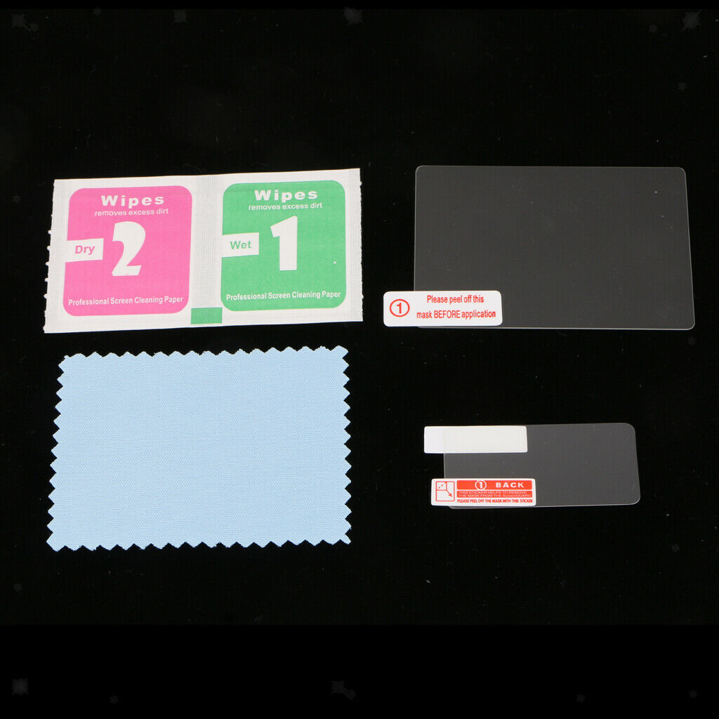 Tempered Screen Protector Foils for Canon EOS 5D Mark IV - 0.3mm Thick 2.5D High
