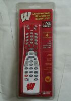 Wisconsin Badgers Universal Remote Control - One For All - (nib)