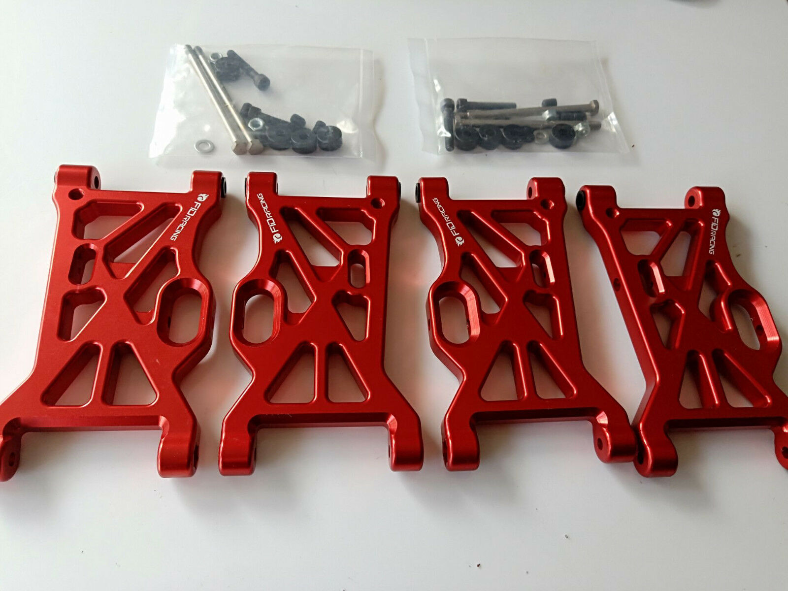 FID tuttioy CNC davanti + rear suspension arm set for  LOSI MTXL DBXl-e DBXL 4pcs  in vendita scontato del 70%