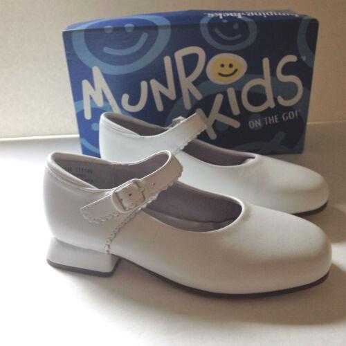 Jumping Jacks Original Kara Kids White Leather Shoes NWB