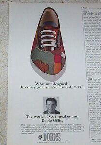 94c902772997 Image is loading 1965-advert-DOBIE-GILLIS-Sneaker-Nut-sneakers-shoes-