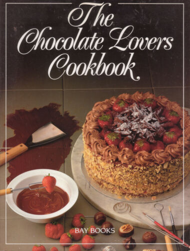 1 of 1 - CHOCOLATE LOVERS COOKBOOK Bay Books **GOOD COPY**
