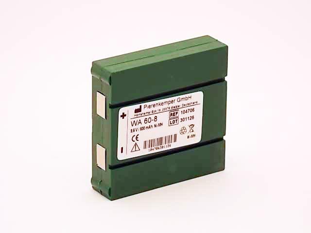 Akku WA60-8 Wechselakku für EMP 2 Sport - 4 Sport  EMP 4 pocket  Expert 2 -4