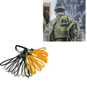 3pcs TMC Tactical Plastic Cable Tie Strap Handcuffs Yelllow CS Decorative Belt