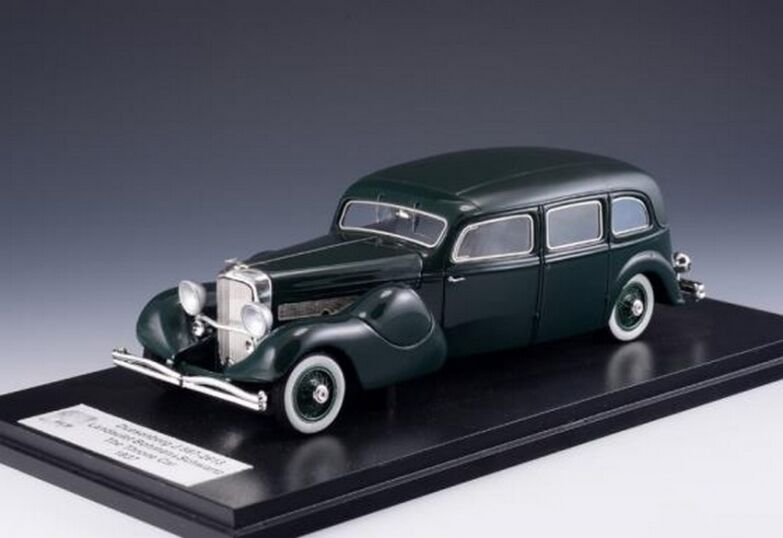 GLM GLM431067 - Duesenberg Model J Bohman & Schwartz Landaulet Throne car   1 43