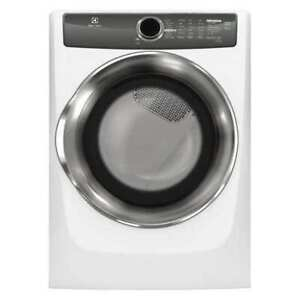 """ELECTROLUX EFME527UIW Dryer,27"""" W,Power Source Electric,White"""